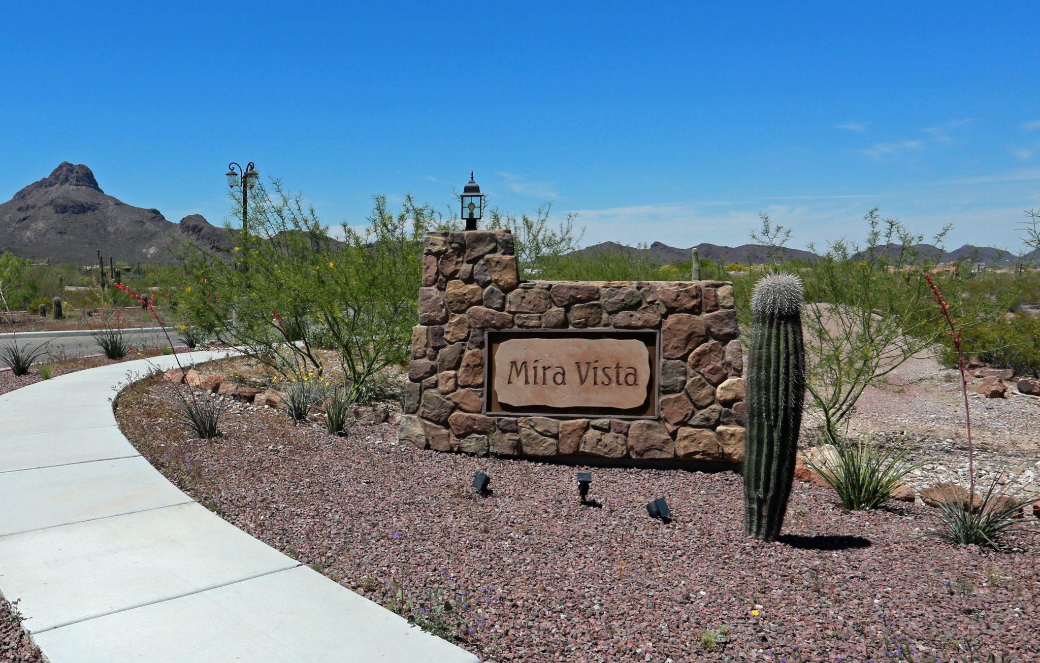 Mira Vista Resort Sign at Entrance