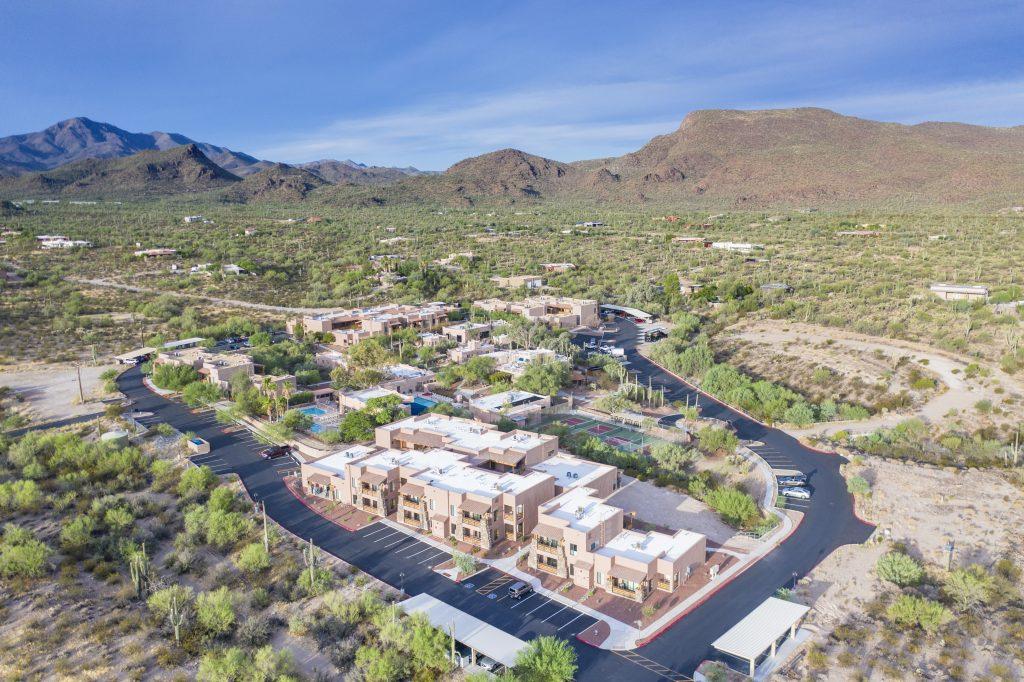 Mira Vista Resort aerial photo